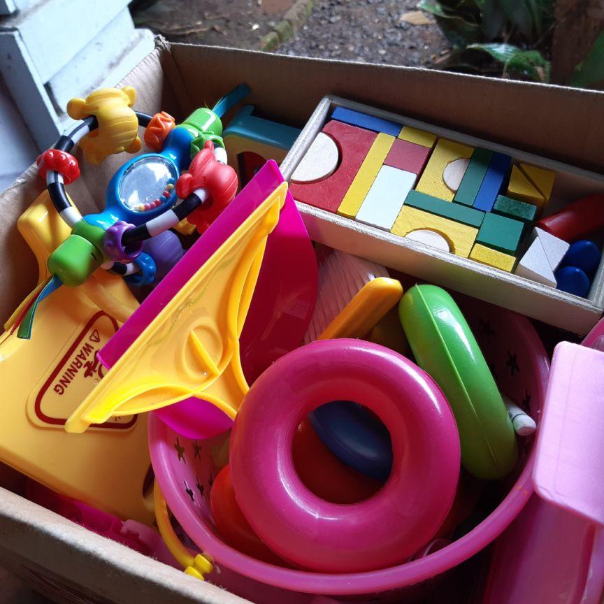 Speelgoed organiseren en opruimen