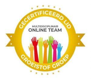 certificaat multidisciplinair team